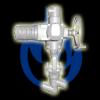 Клапан запорный С.КЗ-20-П-38ГМ Ду 20 Ру 373 (37,3 МПа)